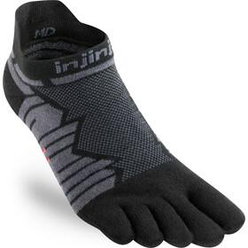 Injinji Ultra Run No-Show Calze, grigio